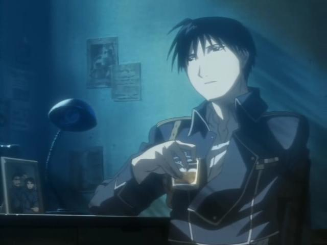 Roy Mustang, the man.