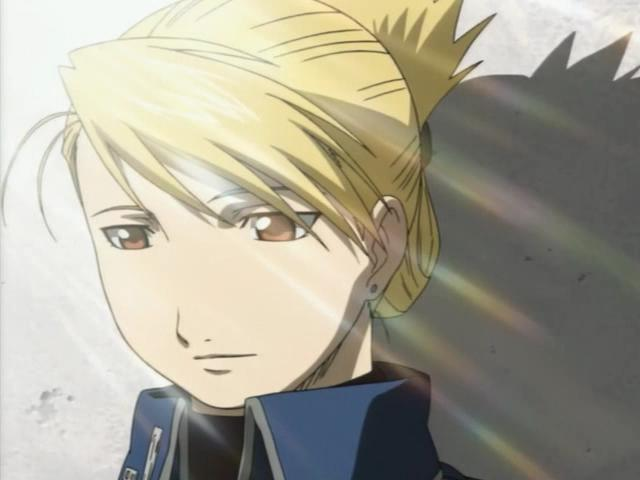 Riza Hawkeye, the woman.