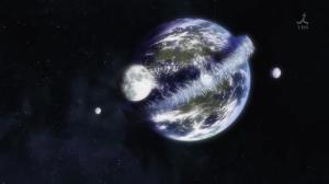 ...Earth with 3 moons and a bigass hurricane?