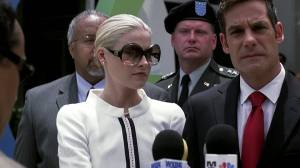 ...the First Lady is wearing ridiculous shades!