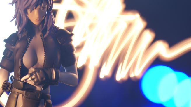 motoko kusanagi lightining fade