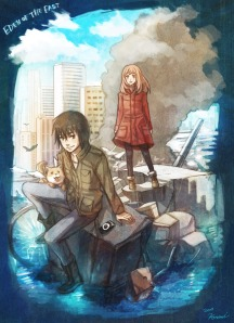 eden of the east poster