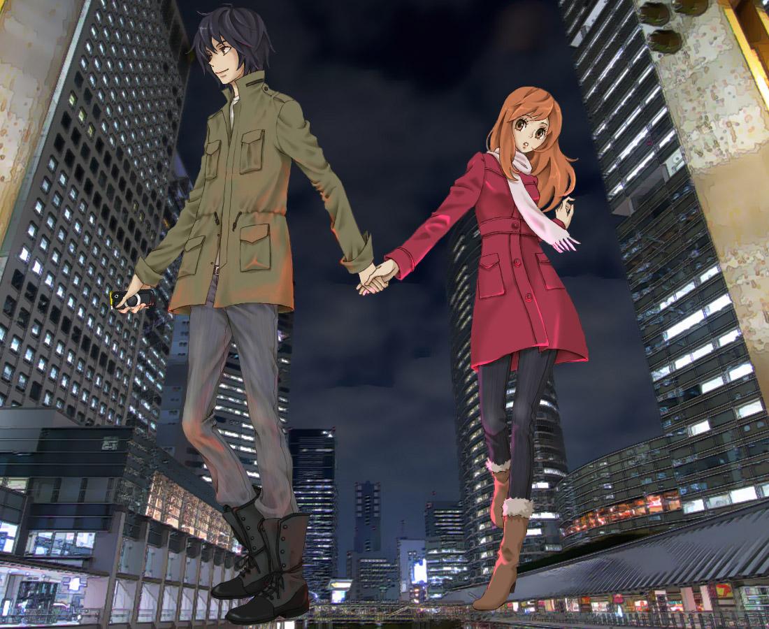 Animes, Partage Higashi-no-eden-couple