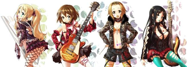 k-on rock