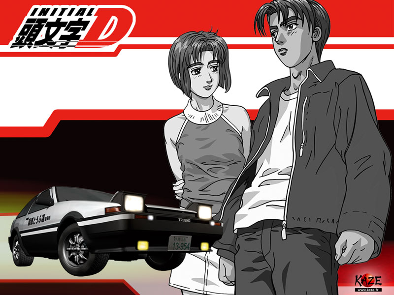 Benz Drift Car >> Initial D Second & Third Stage deculture! | deculture